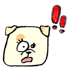 Daily life of dogs sticker #5314937