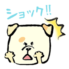Daily life of dogs sticker #5314939