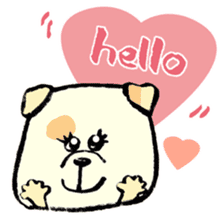 Daily life of dogs sticker #5314940