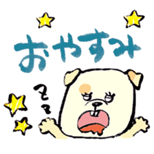 Daily life of dogs sticker #5314945