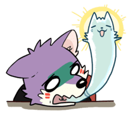 Daily Life of Luwei & LULU sticker #5320078