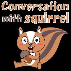 Conversation with squirrel English
