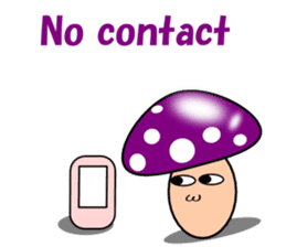 Loose mushrooms English sticker #5328192