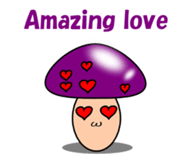Loose mushrooms English sticker #5328193