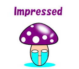 Loose mushrooms English sticker #5328202