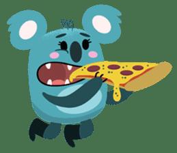 Rio and Drop Bear sticker #5328361
