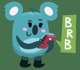 Rio and Drop Bear sticker #5328364