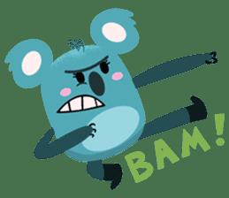 Rio and Drop Bear sticker #5328370