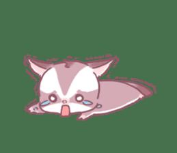 A dryad. Sugar Glider sticker #5334366