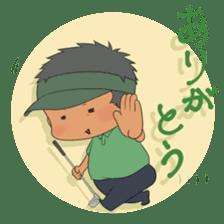 Kawaii! Golf Buddy sticker #5334425