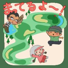 Kawaii! Golf Buddy sticker #5334439