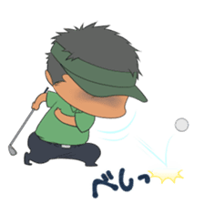 Kawaii! Golf Buddy sticker #5334445
