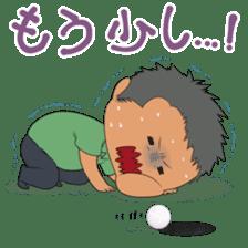 Kawaii! Golf Buddy sticker #5334449