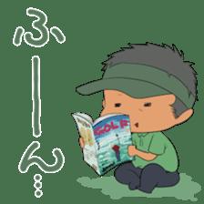 Kawaii! Golf Buddy sticker #5334452
