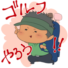 Kawaii! Golf Buddy sticker #5334458
