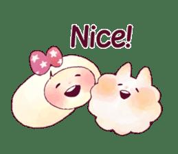 FLUFFY FRIENDS!(English ver.) sticker #5349283