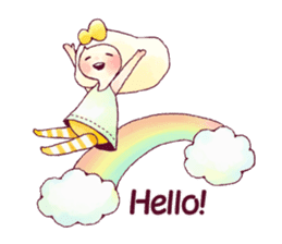 FLUFFY FRIENDS!(English ver.) sticker #5349285