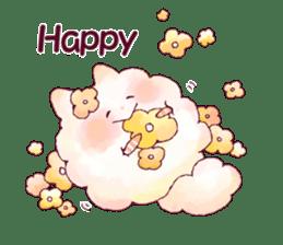 FLUFFY FRIENDS!(English ver.) sticker #5349292