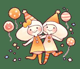 FLUFFY FRIENDS!(English ver.) sticker #5349294