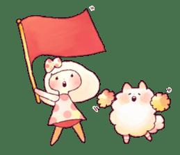 FLUFFY FRIENDS!(English ver.) sticker #5349297