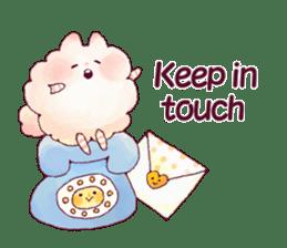 FLUFFY FRIENDS!(English ver.) sticker #5349314