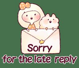 FLUFFY FRIENDS!(English ver.) sticker #5349315