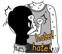 """Girl friend""""part3""""(English) sticker #5352447"""
