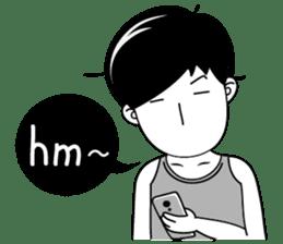 """Girl friend""""part3""""(English) sticker #5352460"""