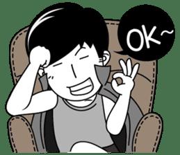 """Girl friend""""part3""""(English) sticker #5352465"""