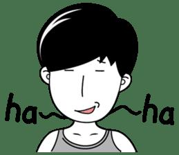 """Girl friend""""part3""""(English) sticker #5352467"""