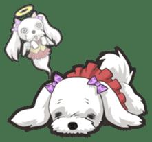 Hi! Maltese sticker #5352991