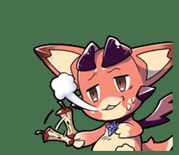 Granblue Fantasy Vol. 2: Vee sticker #5358585