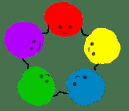 Crayon Five 2 sticker #5364474