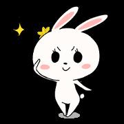 สติ๊กเกอร์ไลน์ Lovely Rabbit Stickers