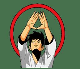 Osu! Karate-do sticker #5385277