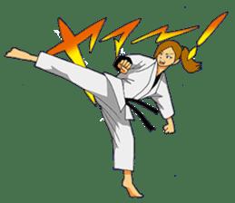 Osu! Karate-do sticker #5385284
