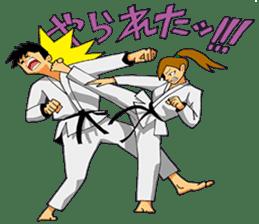 Osu! Karate-do sticker #5385296