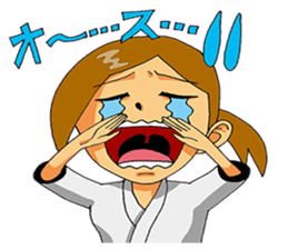 Osu! Karate-do sticker #5385303