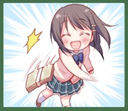 Cheerleader's girl sticker #5385367