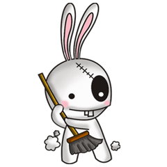 Bunkenstein The Cute Frankenstein Bunny