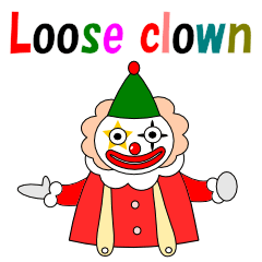 Loose clown