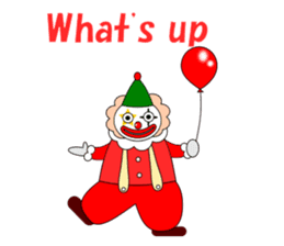 Loose clown sticker #5395605