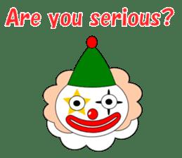 Loose clown sticker #5395606
