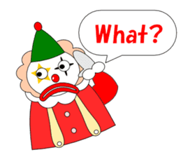 Loose clown sticker #5395609