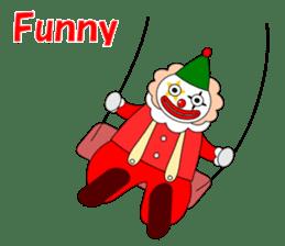 Loose clown sticker #5395611
