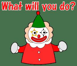 Loose clown sticker #5395612