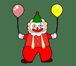 Loose clown sticker #5395613