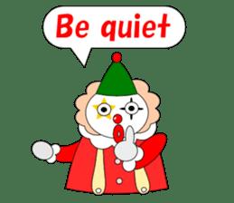 Loose clown sticker #5395614