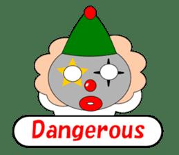 Loose clown sticker #5395616
