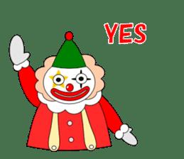 Loose clown sticker #5395617